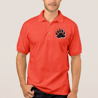 Gorgeous Gay Bear claw In B & W - Golf Shirt