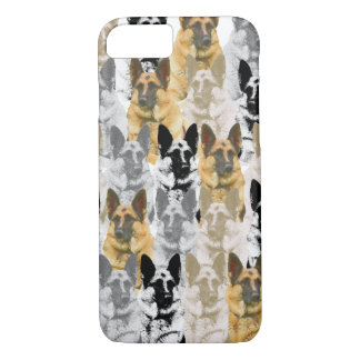 Gorgeous German Shepherd Collage iPhone 8/7 Case