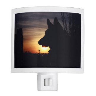 Gorgeous German Shepherd Photo Nite Lights
