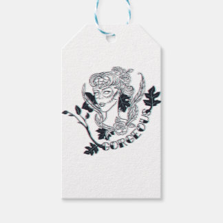 Gorgeous girl gift tags