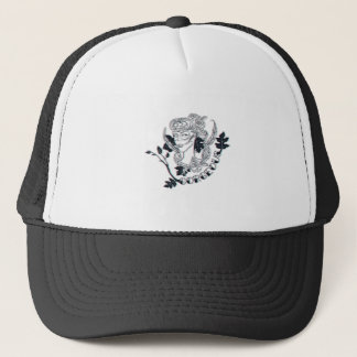 Gorgeous girl trucker hat