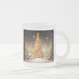 Gorgeous Gold Christmas Tree Mug