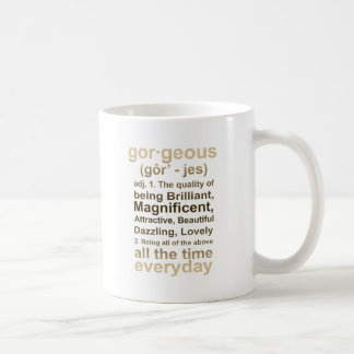 Gorgeous Gold Coffee Mug