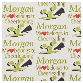 GORGEOUS GOLD CUSTOM CHEERLEADING FABRIC