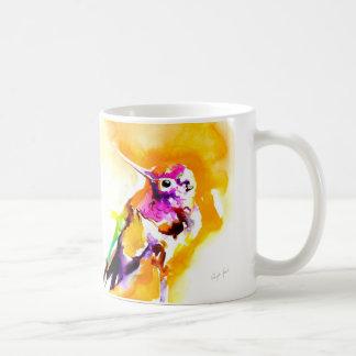 """Gorgeous Gorget"" Hummingbird Print Coffee Mug"