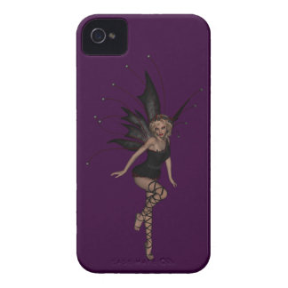 Gorgeous Gothic Fairy BlackBerry Bold Purple iPhone 4 Cover