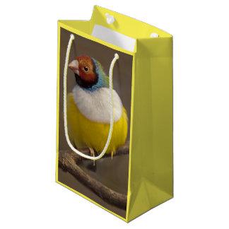 Gorgeous Gouldian Finch Gift Bag