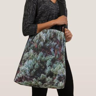 Gorgeous Green Nature Photo Pattern Design Crossbody Bag