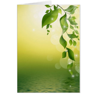 GORGEOUS GREEN VINES CARD