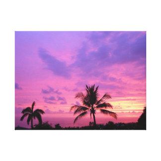 Gorgeous Hawaiian Sunset Canvas Print