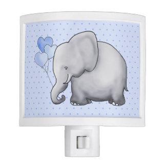 Gorgeous Heart Balloons Baby Elephant Nursery Nite Lites