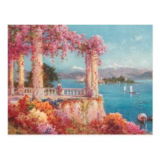 Gorgeous Italian Lakes Postcard