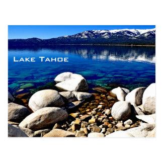 Gorgeous Lake Tahoe Postcard