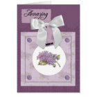 Gorgeous Lilac Mother's Day Card