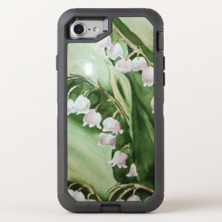 GORGEOUS LILY OF THE VALLEY FLOWERS OtterBox DEFENDER iPhone 8/7 CASE