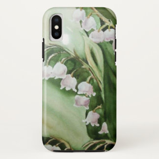 GORGEOUS LILY OF THE VALLEY iPhone X CASE