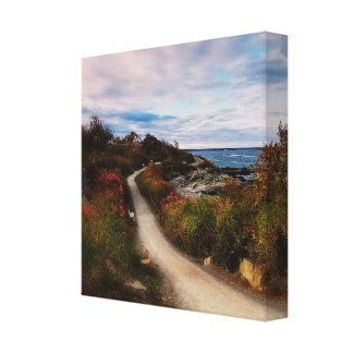 Gorgeous Maine Autumn canvas print
