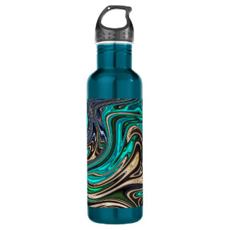 Gorgeous Marble Style - Paradise 710 Ml Water Bottle