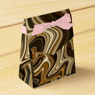 Gorgeous Marble Style - Warm brown Favor Box