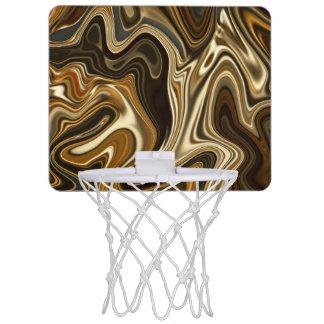 Gorgeous Marble Style - Warm brown Mini Basketball Hoop