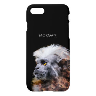 Gorgeous Monkey Mums Double Exposure Portrait iPhone 8/7 Case
