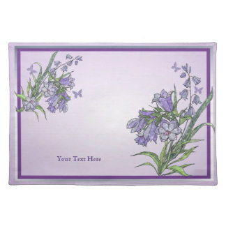 Gorgeous Mothers Day Floral and Butterfly Placemat