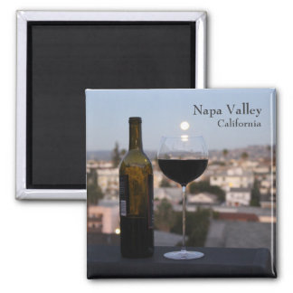 Gorgeous Napa Valley Magnet! Square Magnet