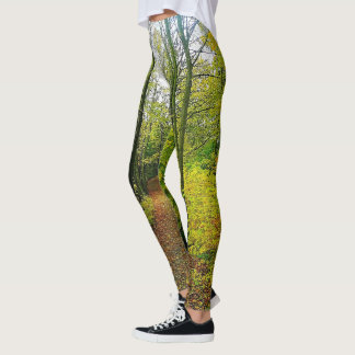 Gorgeous Nature Print Leggings