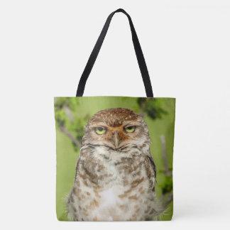 Gorgeous Owl Print Tote Bag