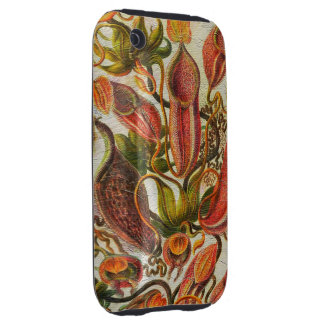 Gorgeous Painted Vintage Flowers Tough iPhone 3 Covers