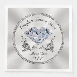 Gorgeous Personalized Diamond Napkins