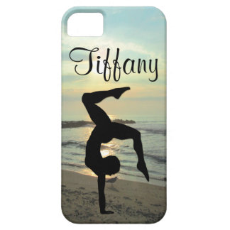 GORGEOUS PERSONALIZED GYMNASTICS IPHONE CASE