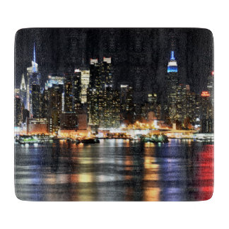 Gorgeous Photo of New York at Night Time Boards