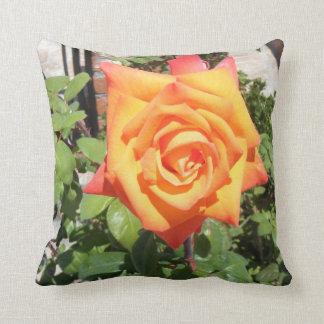 Gorgeous Pillow w/ Orange Rose from Balboa Island