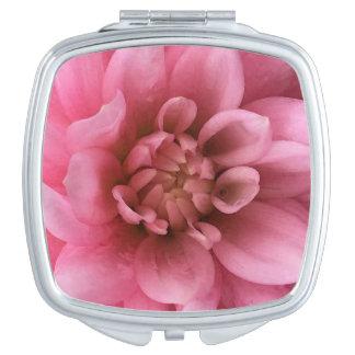 Gorgeous Pink Flower Watercolor Vanity Mirror