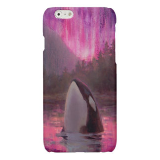 Gorgeous Pink Orca Custom Killer Whale iPhone 6