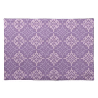 Gorgeous Purple Damask Placemat