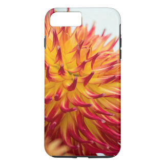 gorgeous Red and yellow Dahlia iPhone 7 plus case