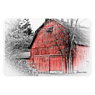 Gorgeous Red Barn Rectangular Magnets