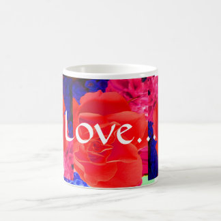 Gorgeous Red Red Rose IV Mugs