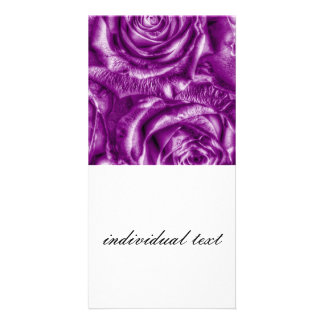 Gorgeous Roses,purple Photo Greeting Card