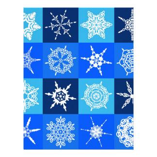 Gorgeous Snowflakes ! Customized Letterhead