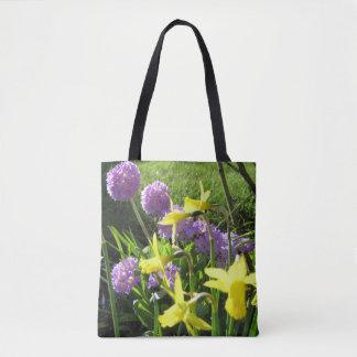 Gorgeous spring flower tote bagtote bag
