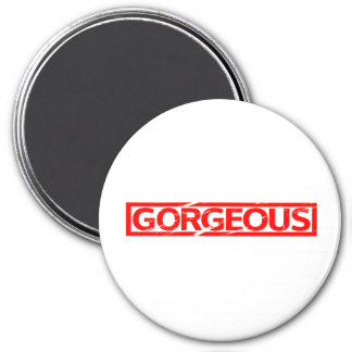 Gorgeous Stamp Magnet