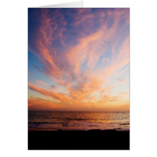 Gorgeous Sunset Card
