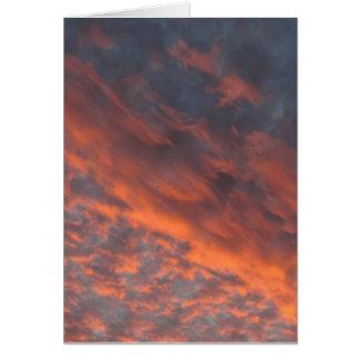 gorgeous sunset card