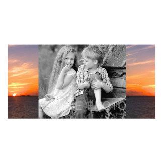 Gorgeous Sunset | Turks and Caicos Photo Custom Photo Card