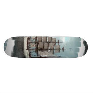 Gorgeous Tall Ship Skateboard