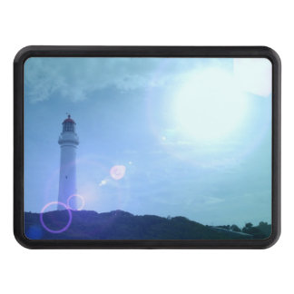 Gorgeous Towering Lighthouse Trailer Hitch Cover