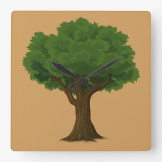 Gorgeous Tree Design Wall Clock